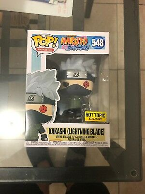Funko Pop Kakashi Lightning Blade Naruto Shippuden Hot Topic Exclusive CONFIRMED