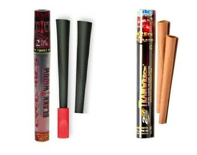 Cyclones Pre-Rolled Cone Blunt Wrap (2-Pack) Rolling Paper Cigarette Tip Tobacco