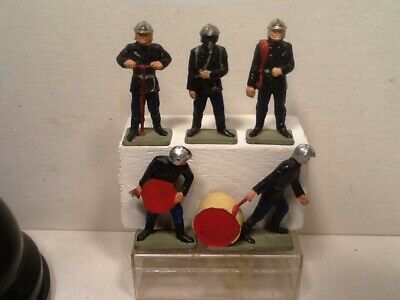 Vintage Starlux Fire Fighters. Airforce? Hard plastic. Rare.