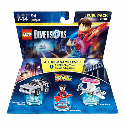 Lego Dimensions 71201 - Back To The Future Marty Mcfly, Delorean & Hoverboard
