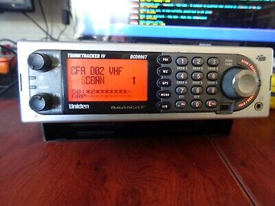 Uniden BCD996T Digital Scanner  Current CFA Program 20018-A Used Good Condition