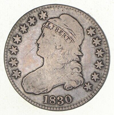 1830 Capped Bust Half Dollar *3339