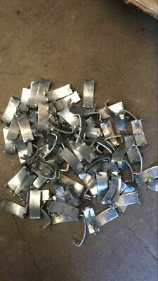 Free Delivery!Aviary J clips /dove tail clp/nato razor300pcs/kg , $25.50/kg