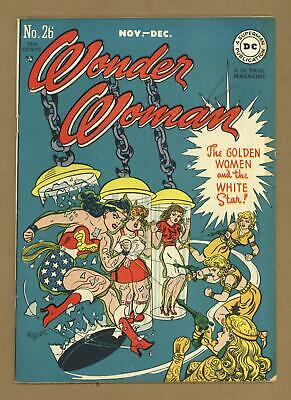 Wonder Woman (1st Series DC) #26 1947 FN 6.0
