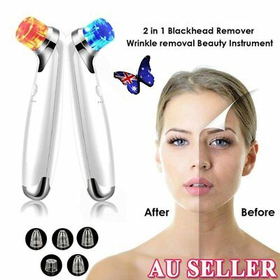 Blackhead Acne Remover Vacuum Microdermabrasion Facial Cleaner Derma Suction HJ▩