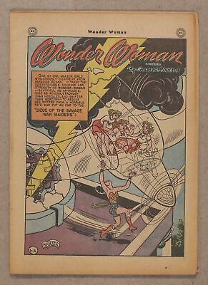 Wonder Woman (1st Series DC) #23 1947 Coverless 0.3