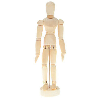 5.5inch Tall 14 Joint Wooden Mannikin Mannequin Sketching Figure Drawing Model
