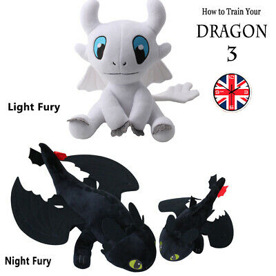 How to Train Your Dragon 25-60Cm Toothless Night Fury Light Fury Plush Doll Toys