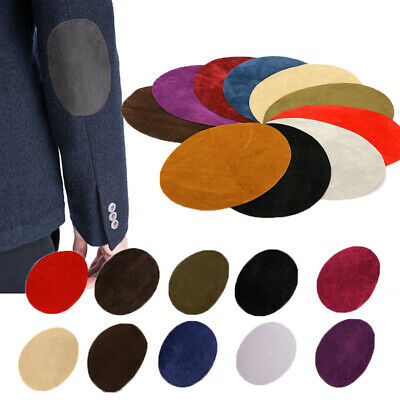 Accessories Suede Repair Applique Patches Elbow Knee Cloth Oval Sticker Fabric