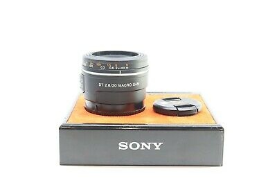 Sony SAL 30mm f/2.8 SAM Compact Macro Lens For Close Up Photography -BB-