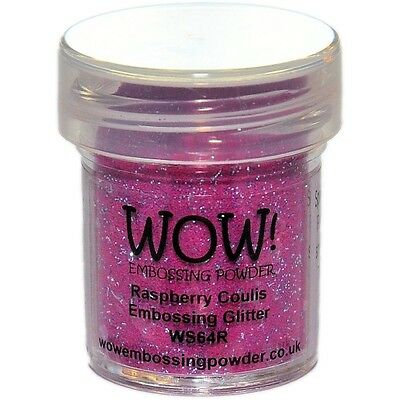 WOW!Embossing Powder 15ml - Raspberry Coulis
