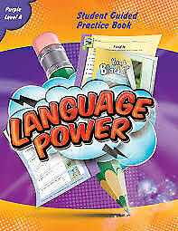 Language Power Student Guided Practice Book Purple Level A paperback NEW