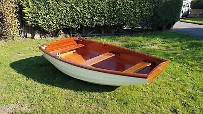 PRICE REDUCED!!  Brand New Wooden Clinker Dinghy/Tender/Rowing Boat
