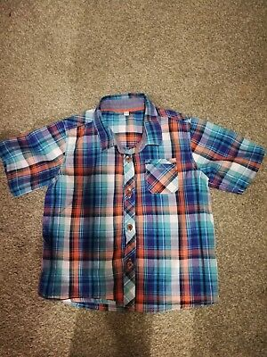 Ted Baker 18-24 Immaculate Condition Shirt