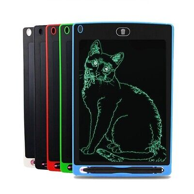 """8.5 12"""" Electronic Digital LCD Writing Pad Tablet Drawing Graphics Board Notepad"""