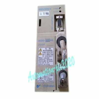 1PCS Used Yaskawa Servo Driver SGDE-01AS Tested It In Good Condition