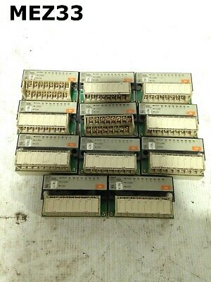 Omron SRT1-ID08 Remote PLC Input Terminal/Module 24VDC -Lot of 11