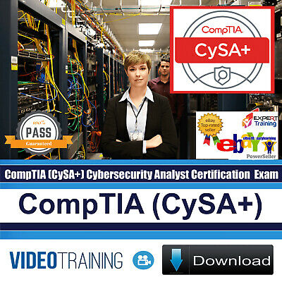 CompTIA CySA+ Cybersecurity Analyst Plus CS0-001 Video Training Course  DOWNLOAD