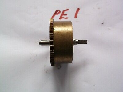 Mainspring Barrel  From An Old Perivale  Mantle Clock  Ref Pe1