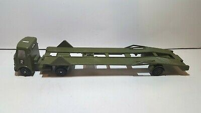Vintage Dinky Toys AEC Articulated Tank Transporter in very good condition no b