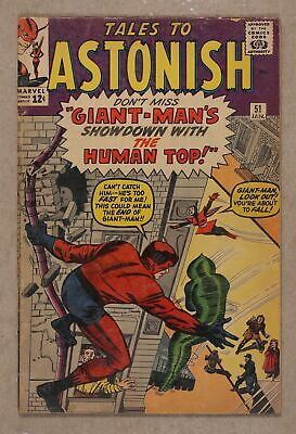 Tales to Astonish (1st Series) #51 1964 GD+ 2.5