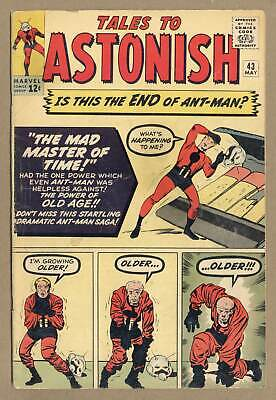 Tales to Astonish (1st Series) #43 1963 GD 2.0