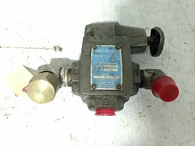 "Sperry Vickers CT-06-F-10 3/4"" Steel Balanced Piston Relief Valve 500-3000PSI"