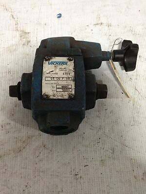 "Vickers CT-06-F-10 3/4"" Steel Adjustable Relief Valve 1500-3000PSI"