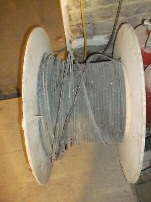 Part used roll of fiber optic cable
