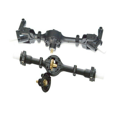Gear Sturdy Front Axle Assembly Spare Part For WPL FY001 1:16RC Military Car CH
