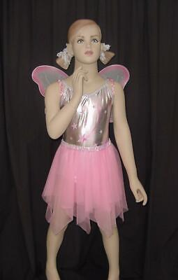 0315d6d7b2e5 Wish Upon A Star Dance Costume Leotard Fairy Skirt & Wings Clearance Child  Sizes