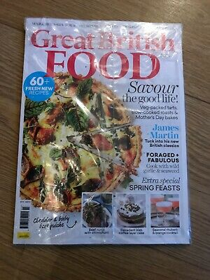 Great British Food Magazine March 2019 With 60+ Fresh New Recipes