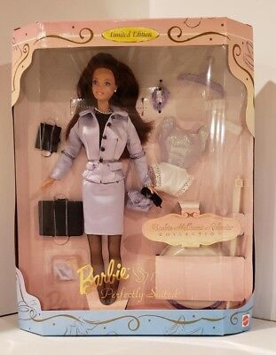 NEW 1997Barbie Perfectly Suited Millicent Roberts Limited Edition 17567