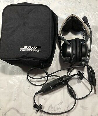 Bose Aviation X ANR (Noise Cancelling) GA (Dual Connectors) - Refurbished.
