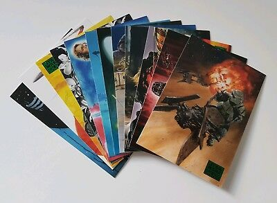 Topps Star Wars Galaxy 2018 Green Parallel Trading Cards Random Selection of 12