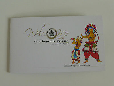 Info-CD: Welcome to the Sacred Temple of the Tooth Relic, Kandy, Sri Lanka DVD
