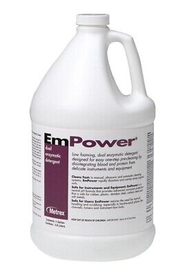 Disinfection Metrex 10-4100 EmPower Dual-Enzymatic Detergent, 1 gal Capacity