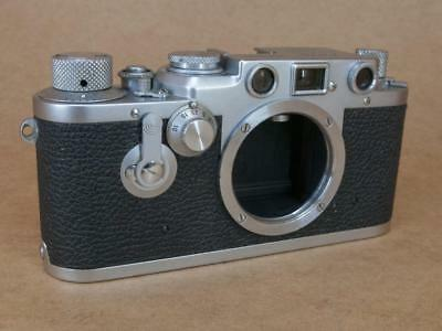 Leitz Leica IIf converted to IIIf Red Dial Delayed Action Body 1952/3