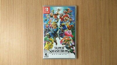 Super Smash Bros. Ultimate - Nintendo Switch - BRAND NEW, FACTORY SEALED