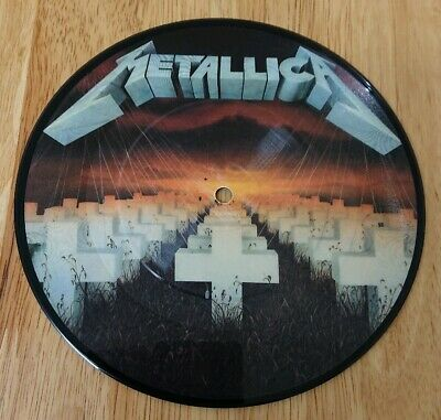 """Metallica Master Of Puppets Rare 7"""" Picture Disc MFN 2320"""