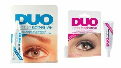 70c3ca1b78d DUO FALSE EYELASH Glue Adhesive 7g - Choose from Clear OR Dark ...