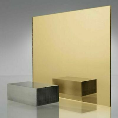 Acrylic mirror sheet gold mirror JOB LOT CLEARANCE SALE plastic perspex mirrored