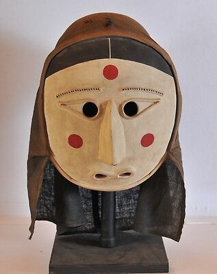 Japanese traditional Shaman Mask, 20th century