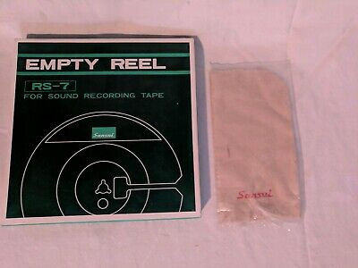 Sansui RS-7 Reel with tape and new Dust Cloth