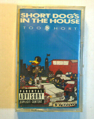 Rare CASSETTE - TOO SHORT - SHORT DOGG'S IN THE HOUSE SEALED 1990 Jive OOP