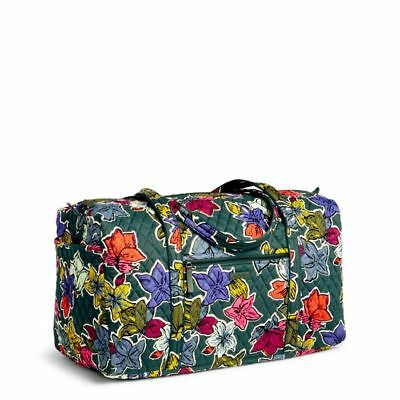 81ecb50ea5 NWT Vera Bradley Large Duffel Bag Travel Tote Bag in Falling Flowers print