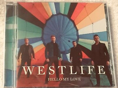 Westlife Hello My Love Cd Exclusive Limited Edition 2 Track Cd Includes Poster
