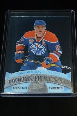 2017-18 Upper Deck Tim Hortons Clear Cut Phenoms Connor McDavid