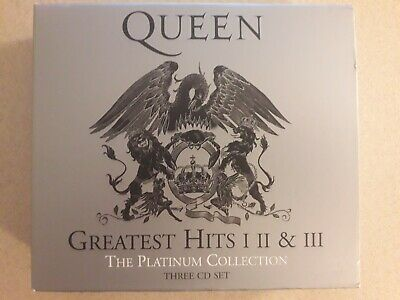 Box Set of 3 CDs - Queen Greatest Hits, The Platinum Collection 1,2,3 I, II, III