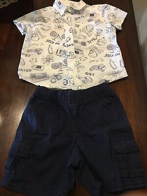 childrens place baby boy 12-18 Months 2 Pieces. Worn Once!